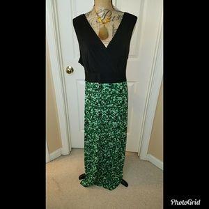 Plus Size Maxi Dress Size 3X
